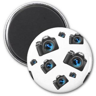 Cameras 2 Inch Round Magnet
