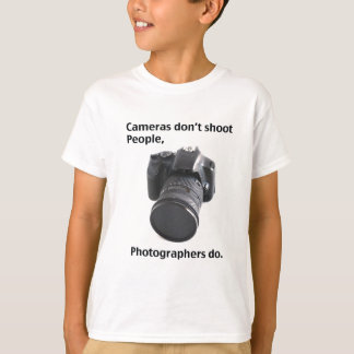 Cameras don't shoot people T-Shirt