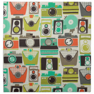 Cameras Retro Cloth Napkin