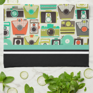 Cameras Retro Kitchen Towel