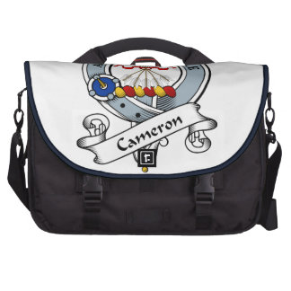 Cameron Clan Badge Laptop Messenger Bag