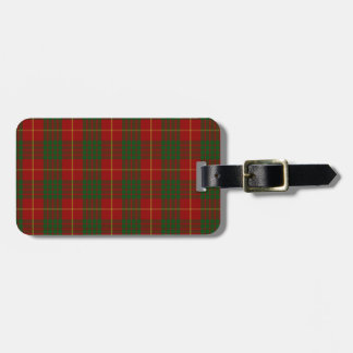 Cameron Clan Family Tartan Travel Bag Tags