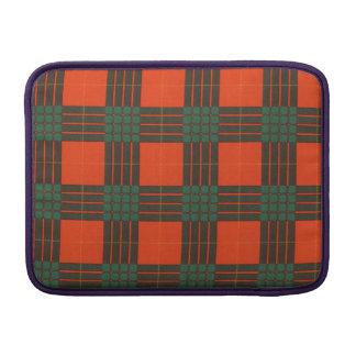 Cameron clan Plaid Scottish tartan Sleeve For MacBook Air