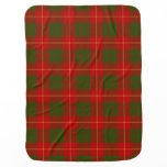 Cameron Clan Tartan Plaid Pattern Stroller Blanket