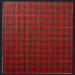 "Cameron Clan Tartan Red and Green Plaid Napkin<br><div class=""desc"">Cloth napkins with a bright red,  forest green,  and yellow plaid pattern from 1842. Traditional Clan Cameron family tartan,  including the MacMartin sept. Choose from two sizes. Matching table runner available.</div>"