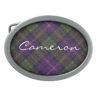 Cameron del tartán del escocés de Erracht Hebilla Cinturón