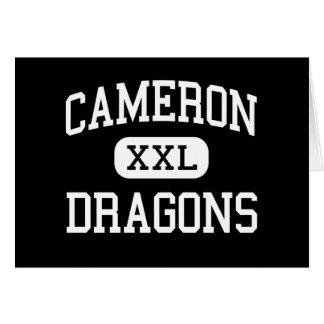 Cameron - Dragons - High School - Cameron Missouri Greeting Card