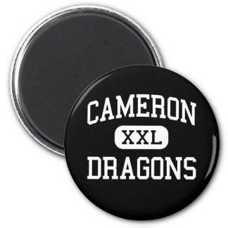 Cameron - Dragons - High School - Cameron Missouri Refrigerator Magnets