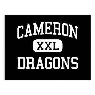 Cameron - Dragons - High School - Cameron Missouri Post Cards