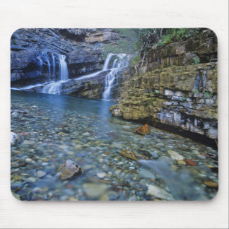 Cameron Falls in Waterton Lakes National Park in 2 Mouse Pad