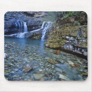 Cameron Falls in Waterton Lakes National Park in 2 Mousepad