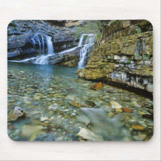 Cameron Falls in Waterton Lakes National Park in Mouse Pads