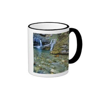 Cameron Falls in Waterton Lakes National Park in Coffee Mug