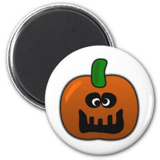 Cameron, la calabaza tonta de Halloween Imanes