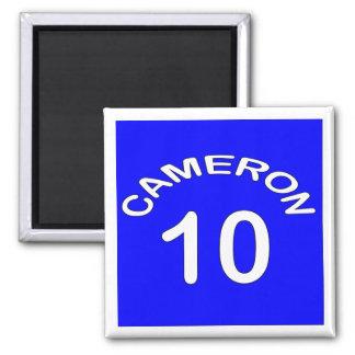 Cameron ~ Number 10 ~ Political U.K 2 Inch Square Magnet