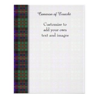 Cameron of Erracht clan Plaid Scottish tartan Flyer