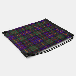 Cameron of Erracht clan Plaid Scottish tartan Drawstring Backpack