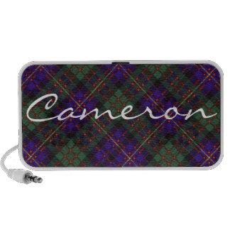 Cameron of Erracht Scottish tartan iPod Speakers