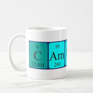 Periodic table coffee travel mugs zazzle cameron periodic table name mug urtaz Image collections
