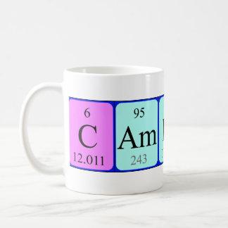 Cameron periodic table name mug
