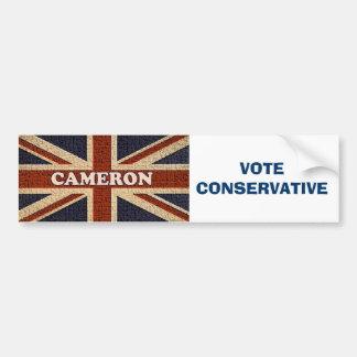 Cameron ~ Political U.K General Election Bumper Sticker