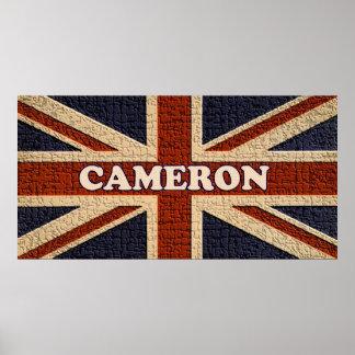 Cameron ~ Political U.K General Election Poster