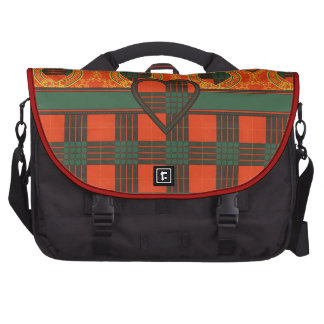 Cameron Scottish Tartan Laptop Messenger Bag