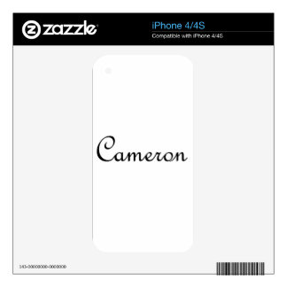 Cameron Skin For The iPhone 4