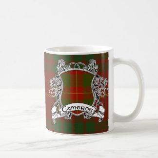 Cameron Tartan Shield Coffee Mug
