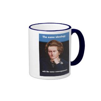 Cameron Thatcher Ringer Coffee Mug