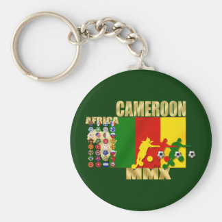 Cameroon 32 qualifying country flags football gift basic round button keychain