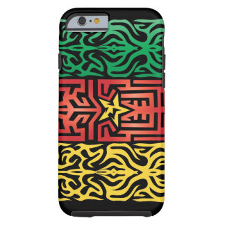 Cameroon Abstract Tough iPhone 6 Case