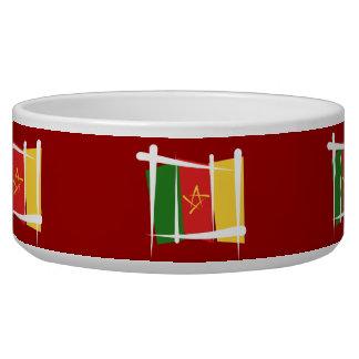 Cameroon Brush Flag Bowl