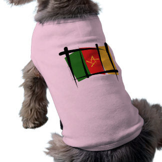 Cameroon Brush Flag Shirt