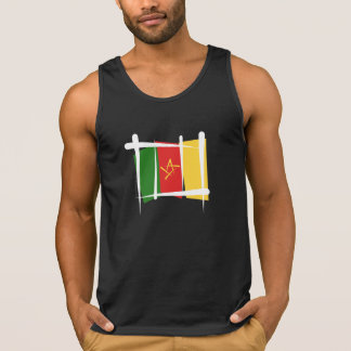 Cameroon Brush Flag Tank Top