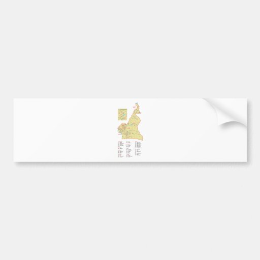 Cameroon Bumper Stickers
