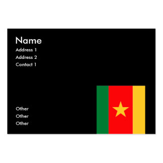 Cameroon Large Business Cards (Pack Of 100)