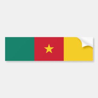 Cameroon/Cameroonian Flag Bumper Sticker