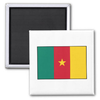 Cameroon – Cameroonian Flag Magnet