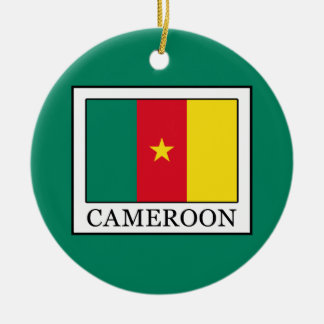 Cameroon Ceramic Ornament