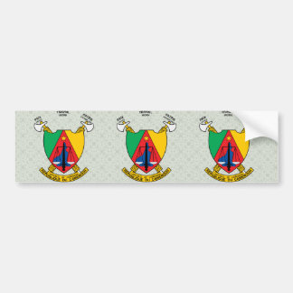 Cameroon Coat of Arms detail Bumper Sticker
