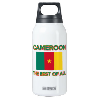 Cameroon design insulated water bottle