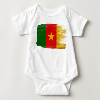 Cameroon Flag Baby Bodysuit