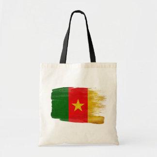 Cameroon Flag Canvas Bags