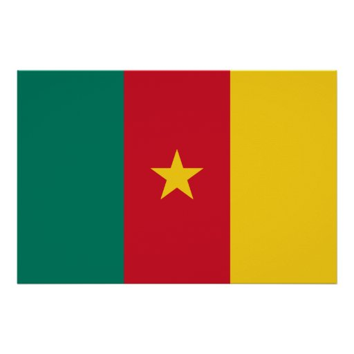 Cameroon Flag Design Posters