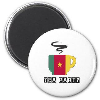 Cameroon Flag Designs Magnet