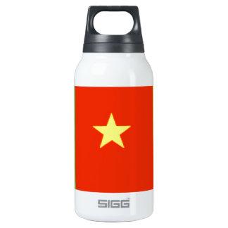 Cameroon Flag Insulated Water Bottle