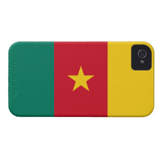 Cameroon Flag iPhone 4 Case