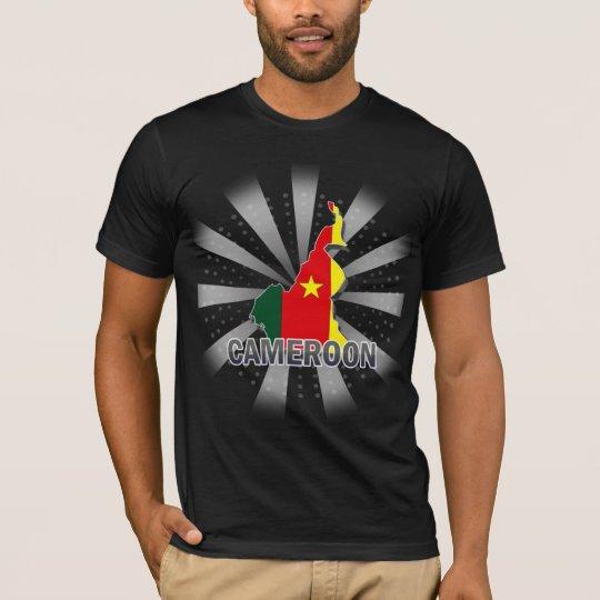 Cameroon Flag Map 2.0 T-Shirt
