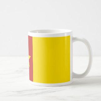Cameroon flag coffee mugs